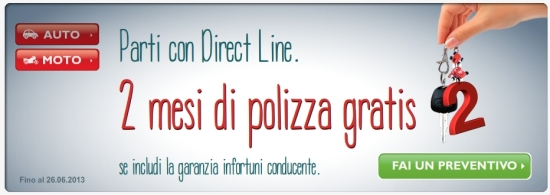 direct line offerte internet
