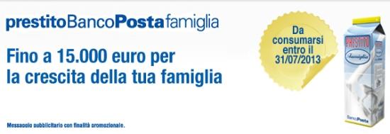 prestiti poste italiane offerte